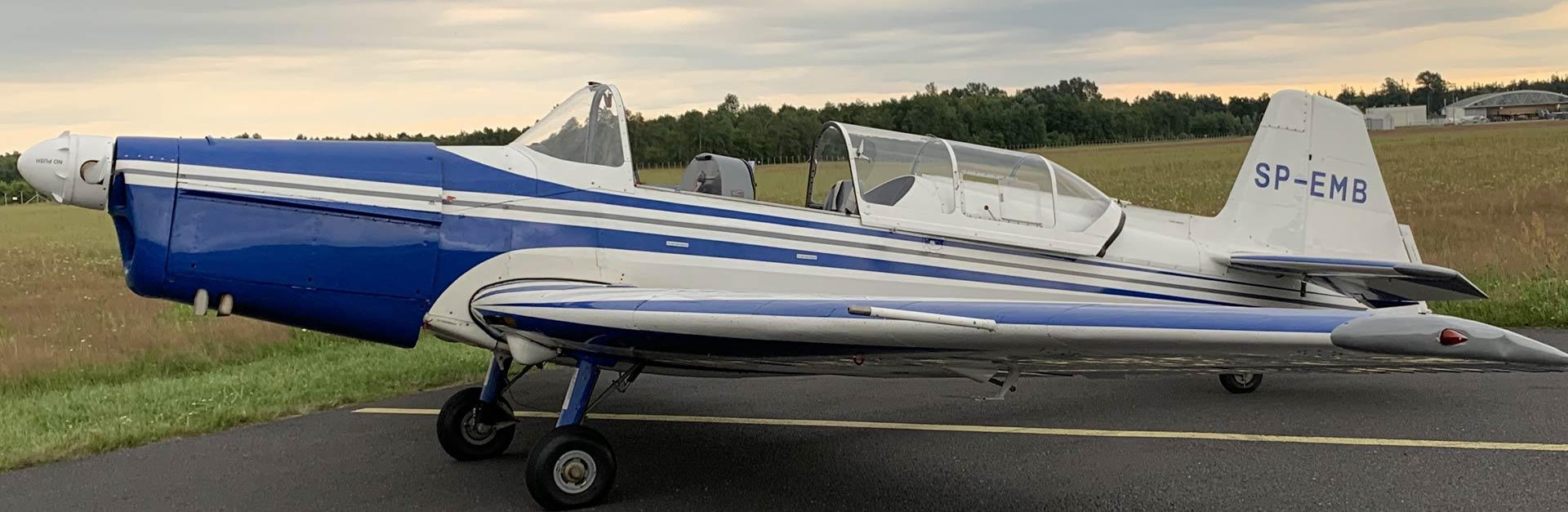 ZLIN 526F SP-EMB