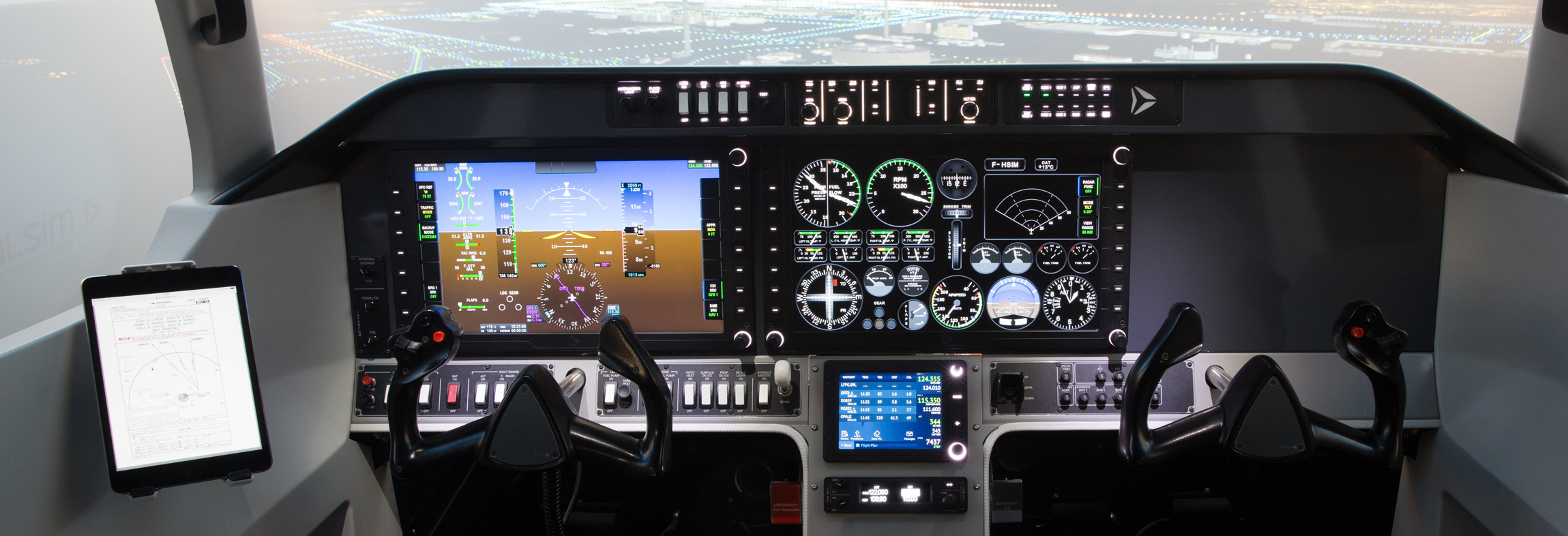 FLIGHT SIMULATOR  AL250